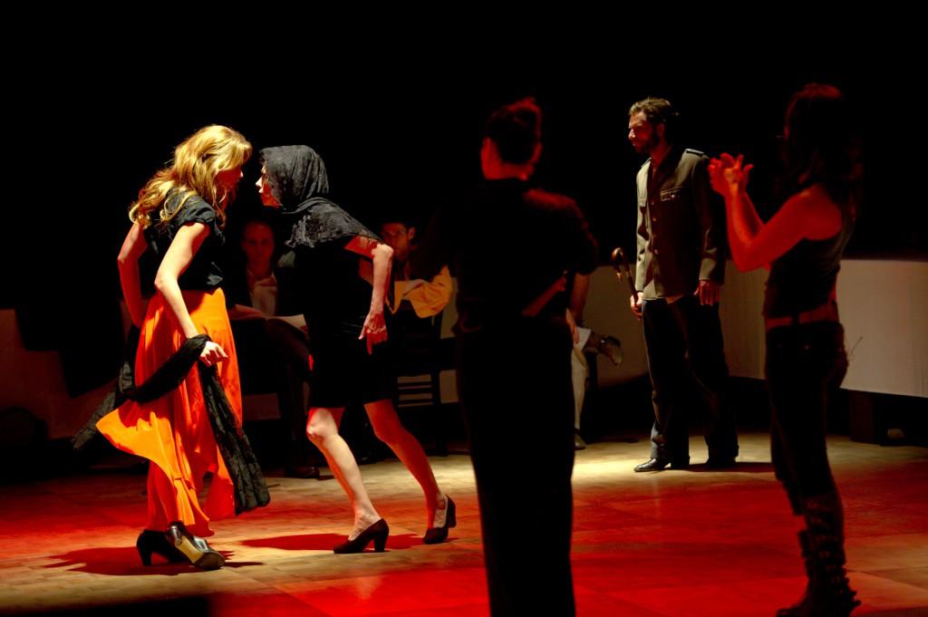 13.06.2014 / Deutsches Theater Göttingen / Fotoprobe Ay! Ay! Carmenchita / DT / Foto: Thomas Müller / freier Fotograf